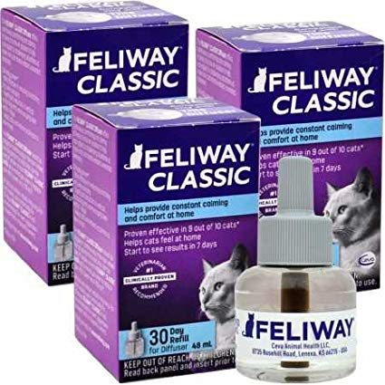 FELIWAY Classic Refill, Three Pack