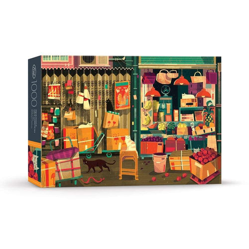 FRED Shop Cats 1000 Piece Puzzle