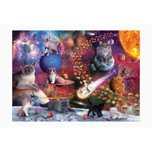 FRED Galaxy Cats 1000 Piece Puzzle