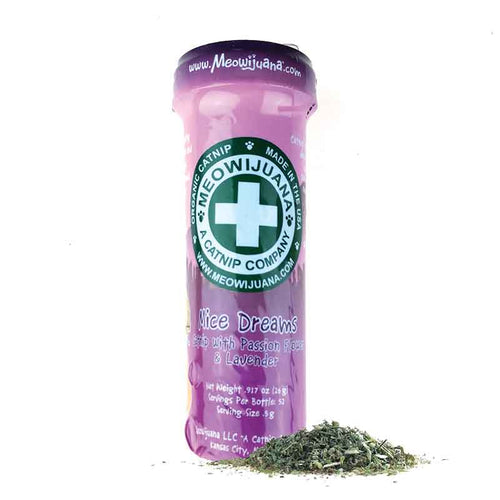 MEOWIJUANA Mice Dreams Catnip, Passion Flower & Lavender Blend, 26g