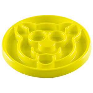 BE ONE BREED Slow Feeder Yellow, 8x8
