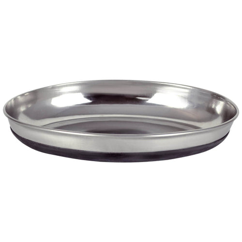 OUR PET'S Stainless Steel Oval Dish
