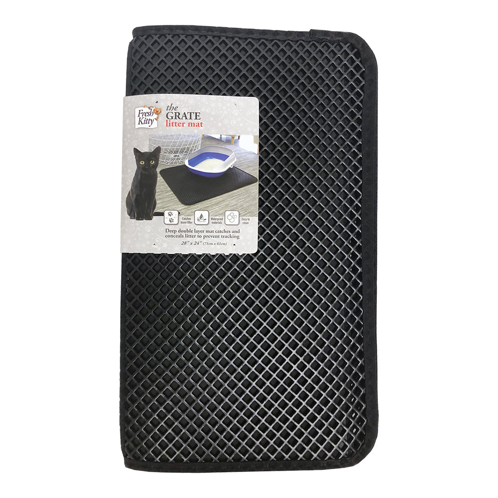ROYAL PET The Grate Litter Mat, Black 28x24