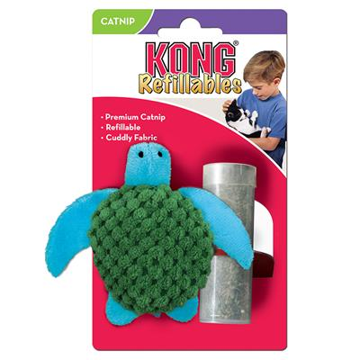 KONG Refillable Catnip Turtle