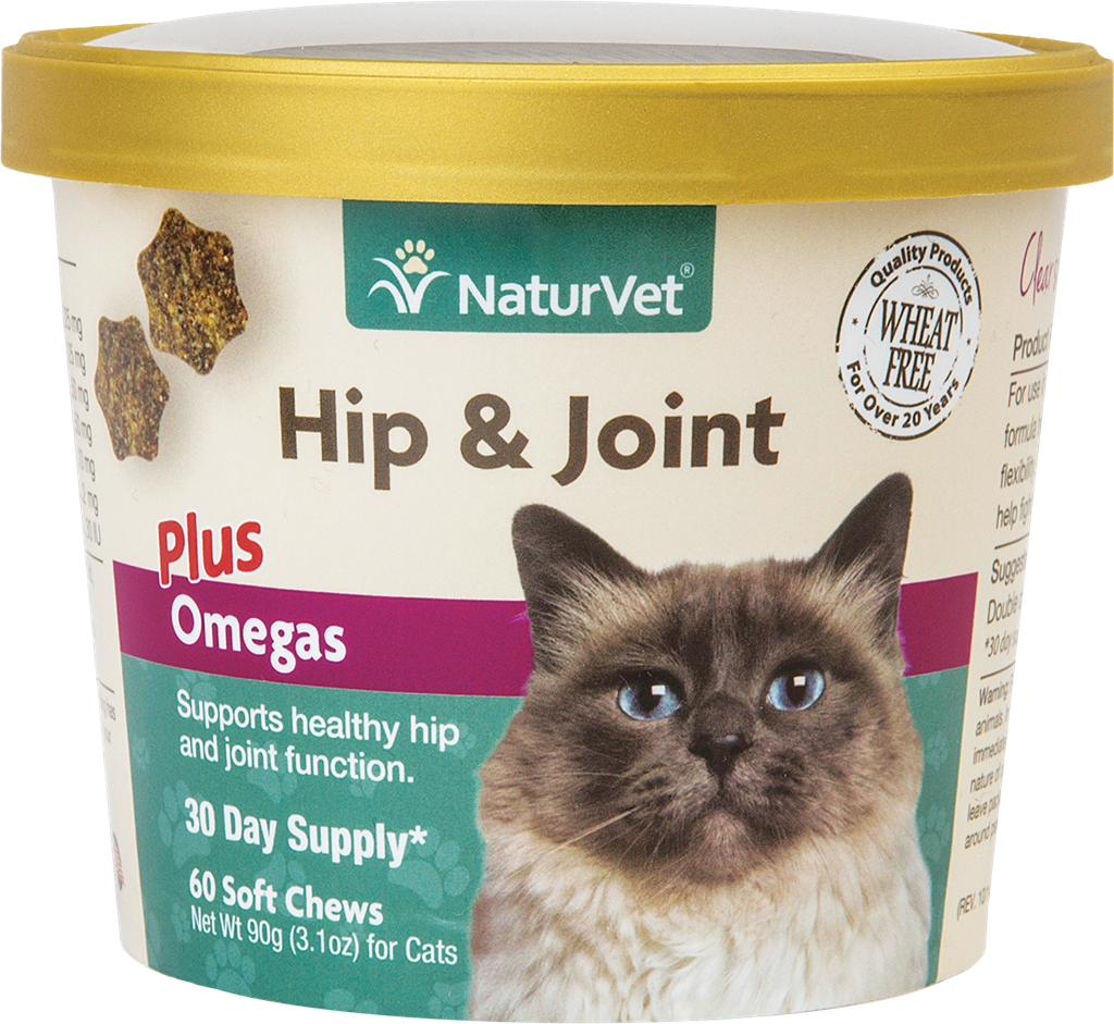 NATURVET Soft Chew Hip & Joint + Omega, 60ct