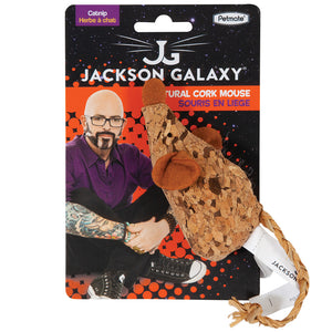 JACKSON GALAXY Natural Cork Mouse Toy