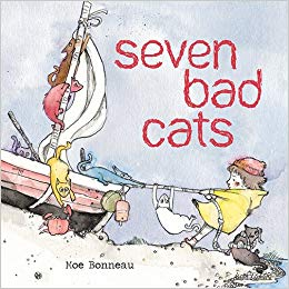 Seven Bad Cats by Moe Bonneau