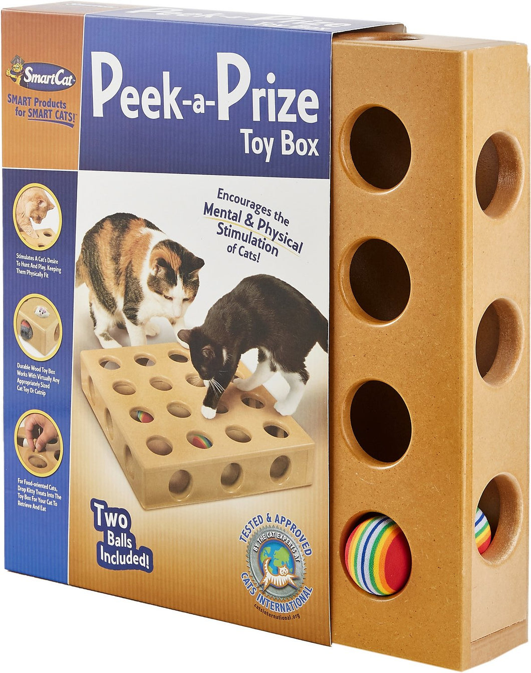 SMART CAT Peek and Play Toy Box Large
