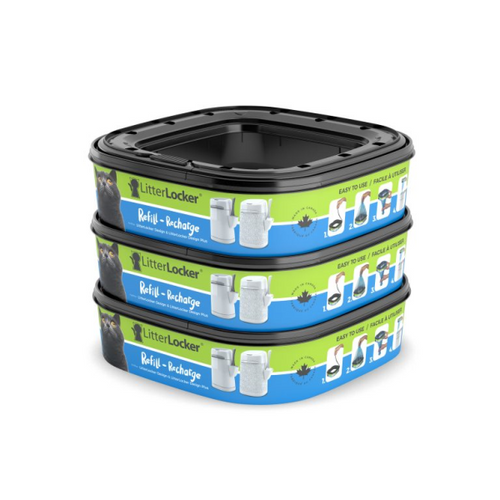 LITTERLOCKER Design Plus Refill 3 Pack