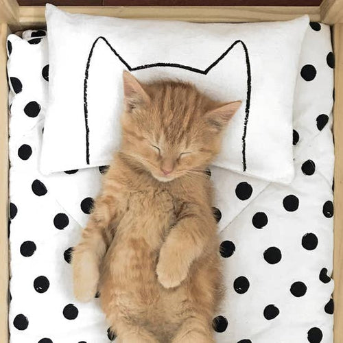 XENOTEES Mini Catnap Bed Pillow and Toy