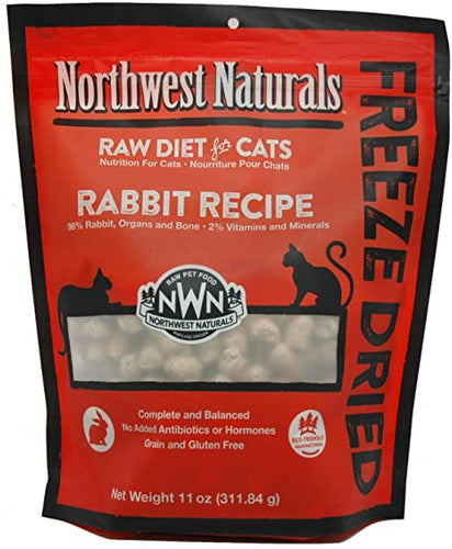 NORTHWEST NATURALS Freeze Dried Rabbit Recipe, 11oz