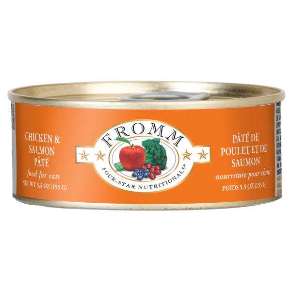 FROMM Four-Star Chicken & Salmon Pate, 156g