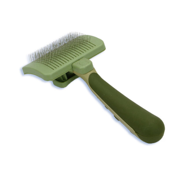 SAFARI Cat Self Clean Slicker Brush
