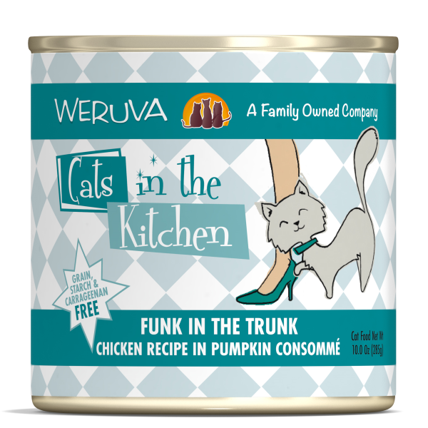 CATS IN THE KITCHEN Funk in the Trunk Chicken in Pumpkin Consommé, 284g
