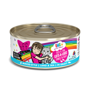 BFF OMG Land & Sea Lots-O-Luck! Duck & Tuna, 5.5oz
