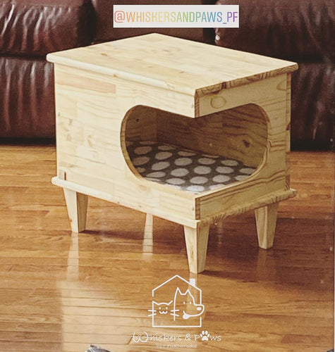 WHISKERS & PAWS Cat Coffee Table