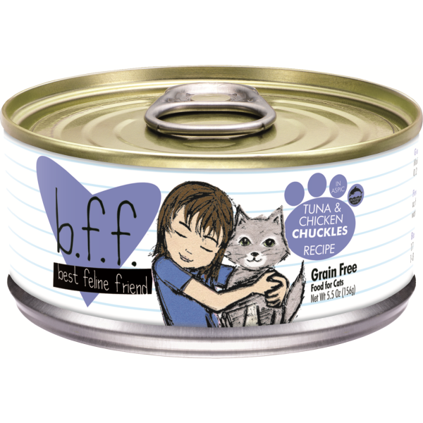 BFF Tuna & Chicken Chuckles, 5.5oz