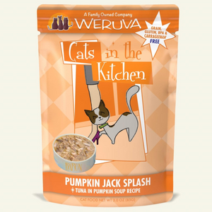 CATS IN THE KITCHEN Pumpkin Jack Splash Tuna in Pumpkin Soup, 85g pouch