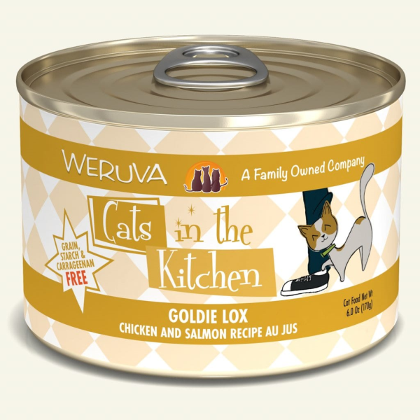 WERUVA Cats in the Kitchen Goldie Lox, 6oz