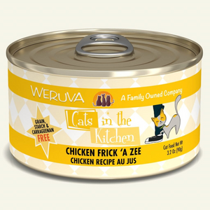 WERUVA Cats in the Kitchen Chicken Frick 'A Zee, 3.2oz