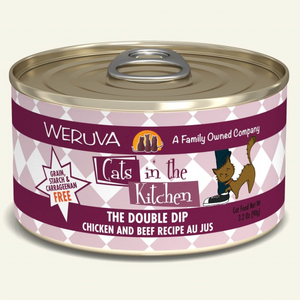 CATS IN THE KITCHEN The Double Dip Chicken & Beef Recipe Au Jus, 90g