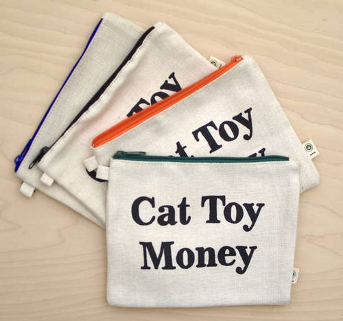 XENOTEES Cat Toy Money Pouch