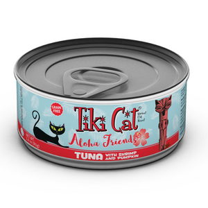 TIKI CAT Aloha Friends Tuna, Shrimp & Pumpkin, 85g