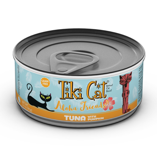 TIKI CAT Aloha Friends Tuna & Pumpkin, 85g
