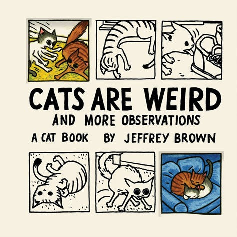 Cats Are Weird and More Observations, by Jeffrey Brown