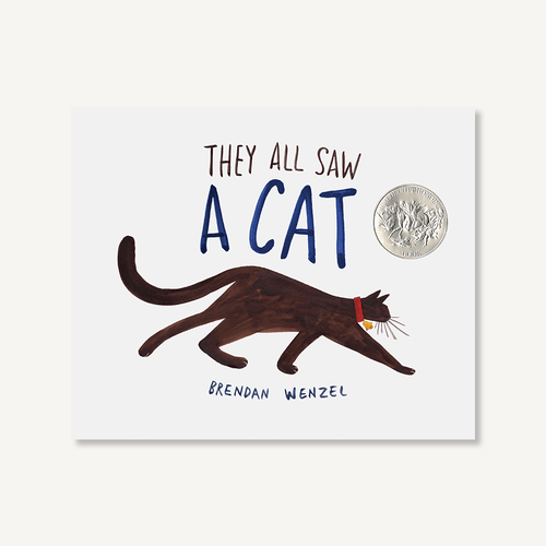 The All Saw A Cat by Brendan Wenzel