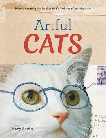 Artful Cats by Mary Savig