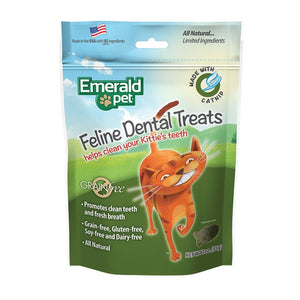 EMERALD PET Dental Treat Catnip, 3oz