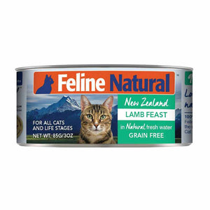 FELINE NATURAL New Zealand Lamb Feast, 85g