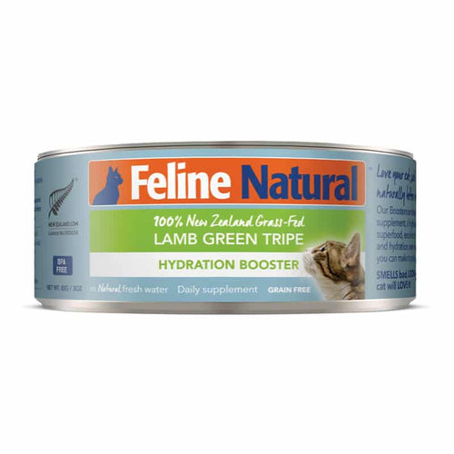 FELINE NATURAL New Zealand Lamb Green Tripe Hydration Booster, 85g