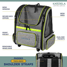 Load image into Gallery viewer, KATZIELA Hybrid Adventurer Backpack, Green
