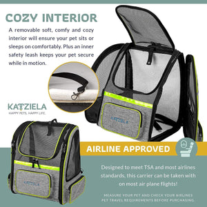 KATZIELA Hybrid Adventurer Backpack, Green