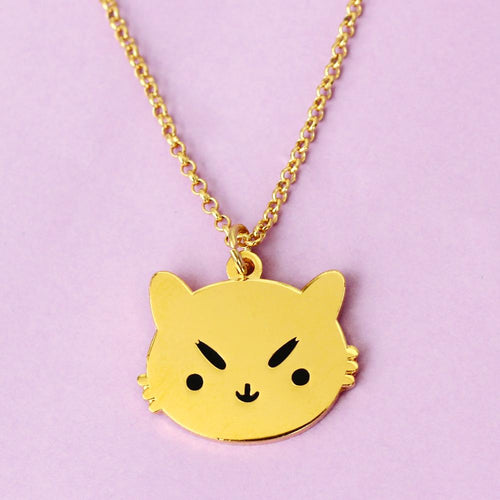 PONY PEOPLE Sassy Kitty Necklace