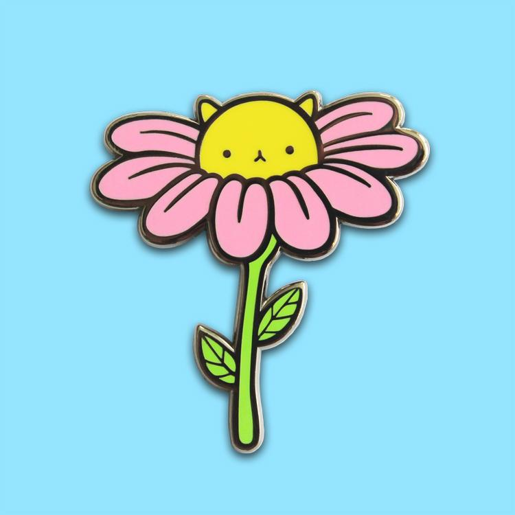 PONY PEOPLE Daisy Kitty Pin