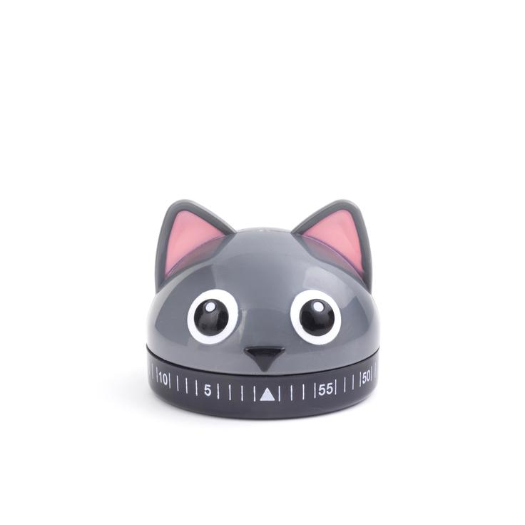 KIKKERLAND Cat Kitchen Timer