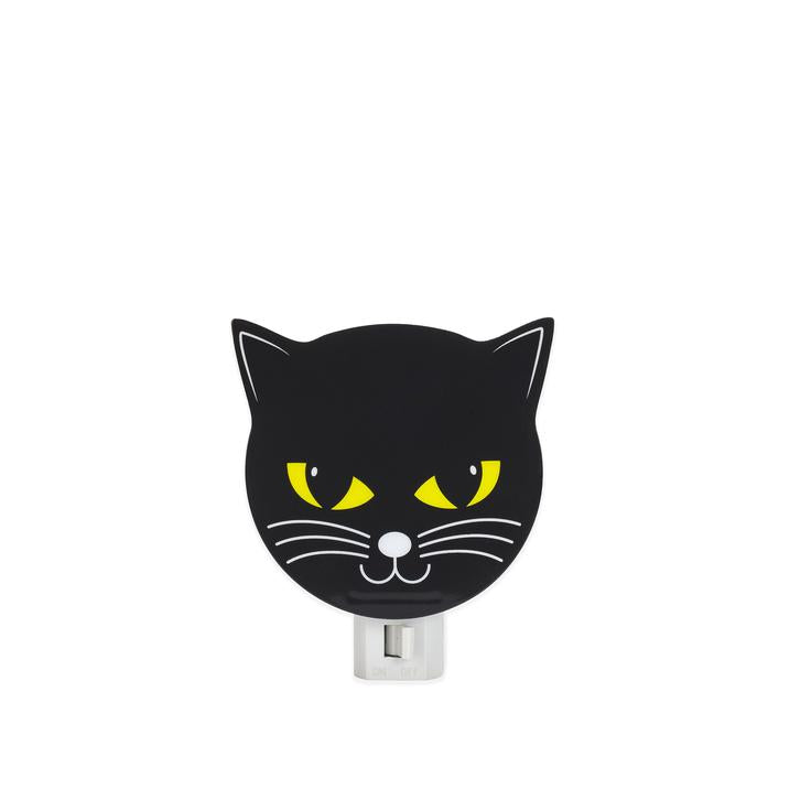 KIKKERLAND Black Cat Night Light