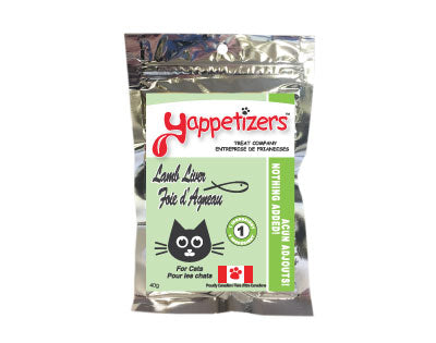 YAPPETIZERS Dehydrated Lamb Liver, 20g