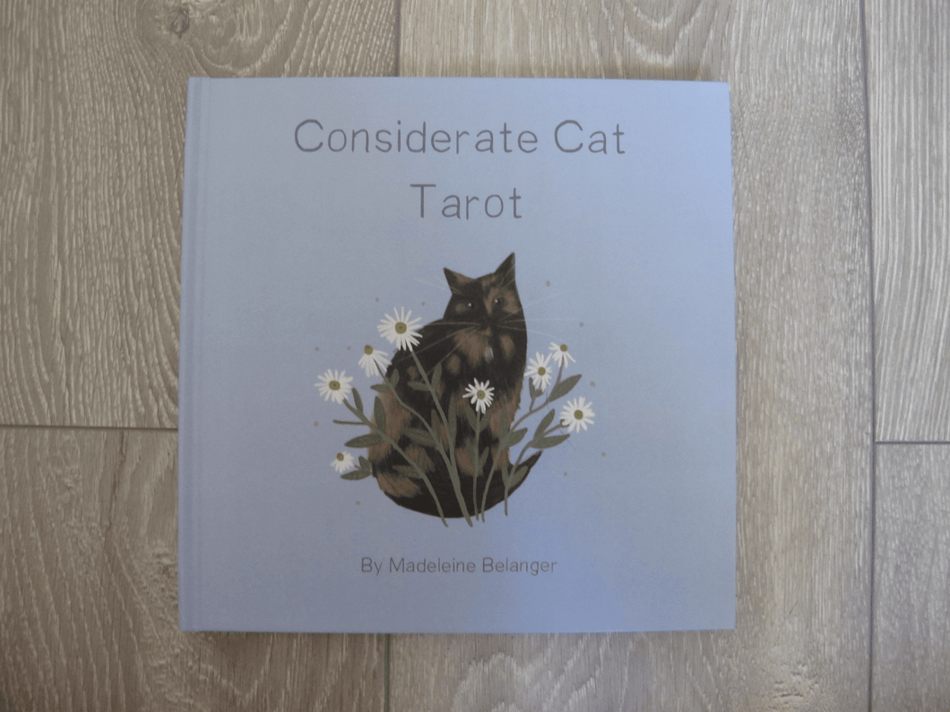 CONSIDERATE CAT Hardcover Tarot Guide