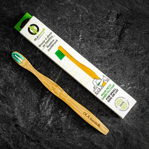 OLA Small Bamboo Pet Toothbrush