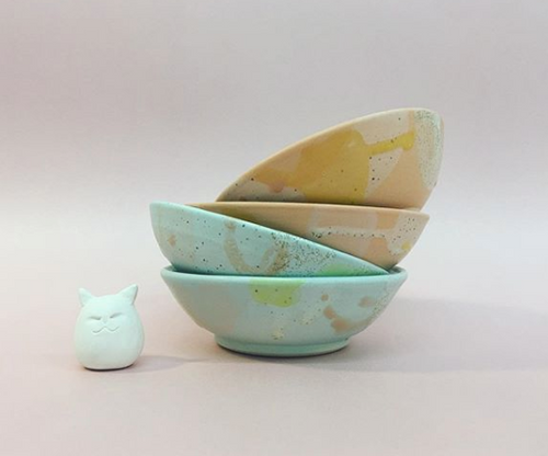 MEG HUBERT CERAMICS Shallow Bowl