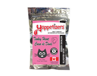 YAPPETIZERS Dehydrated Turkey Heart, 20g