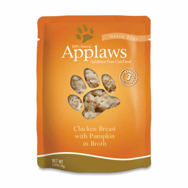 APPLAWS Chicken Breast with Pumpkin in Broth Pouch, 70g