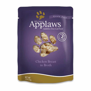 APPLAWS Chicken Breast in Broth Pouch, 70g