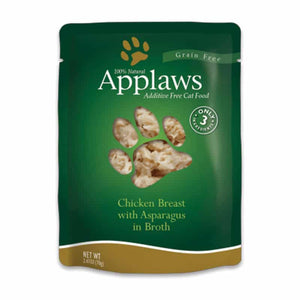 APPLAWS Chicken & Asparagus Pouch, 70g