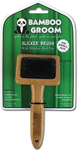 BAMBOO GROOM Small Slicker Brush