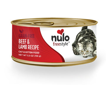 NULO Freestyle Grain-Free Beef & Lamb Recipe, 156g